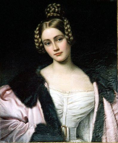 Portrait de Caroline, comtesse d'Holstein par Joseph Karl Stieler, 1834