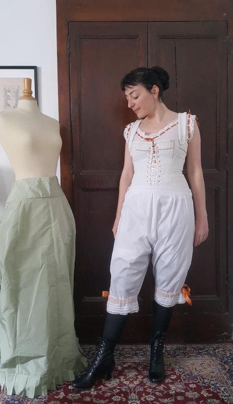 pantalon 1880 et dessous natural form