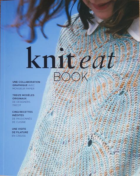 couverture du Knit eat book