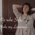 Robe sofia en lin beige - Carnet de recherches de Lucie Choupaut