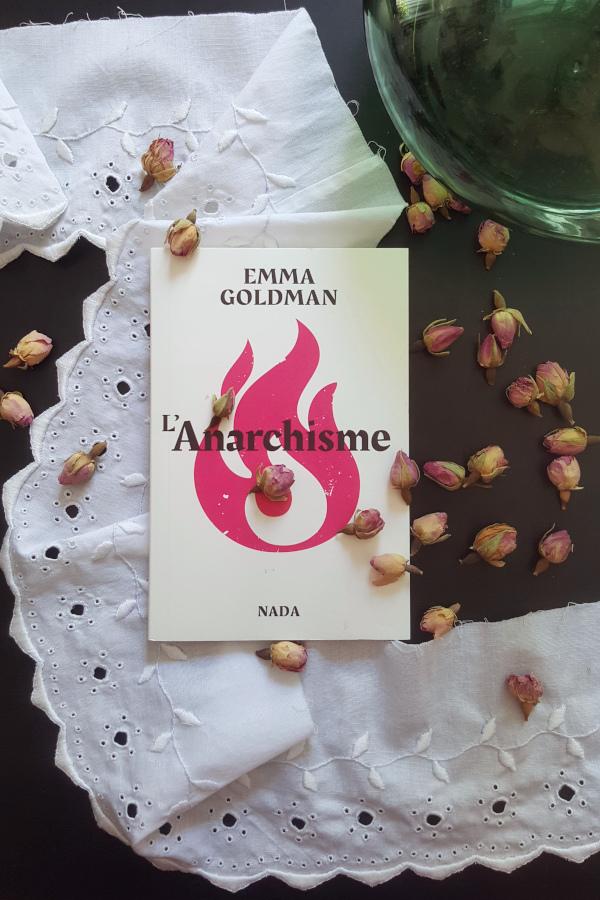 """couverture du livre """"L'anarchisme"""" d'Emma Goldman"""