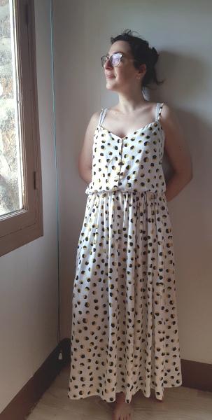robe longue Ségur/Félindra