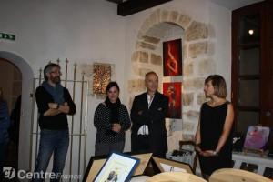 Un article paru dans la montagne pour l'exposition de peinture personnelle de Lucie LLONG, artiste Peintre du mouvement aux Martres de Veyre