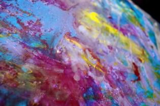 Stage de peinture sur les techniques mixtes (cire et pigments) organisé par Lucie LLONG dans le Puy de dôme : les œuvres d'art
