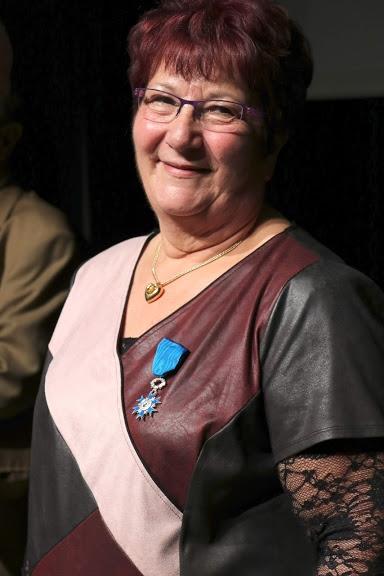 USI : Nicole Bœuf récompensée de la médaille de chevalier de l'ordre du mérite