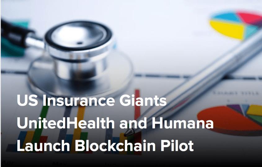 US Insurance Giants UnitedHealth and Humana Launch Blockchain Pilot