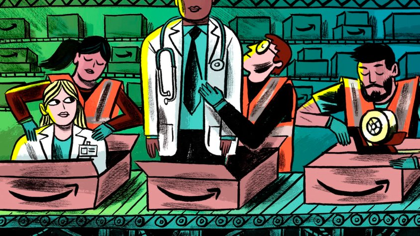 Can Amazon cut insurers out of primary care?