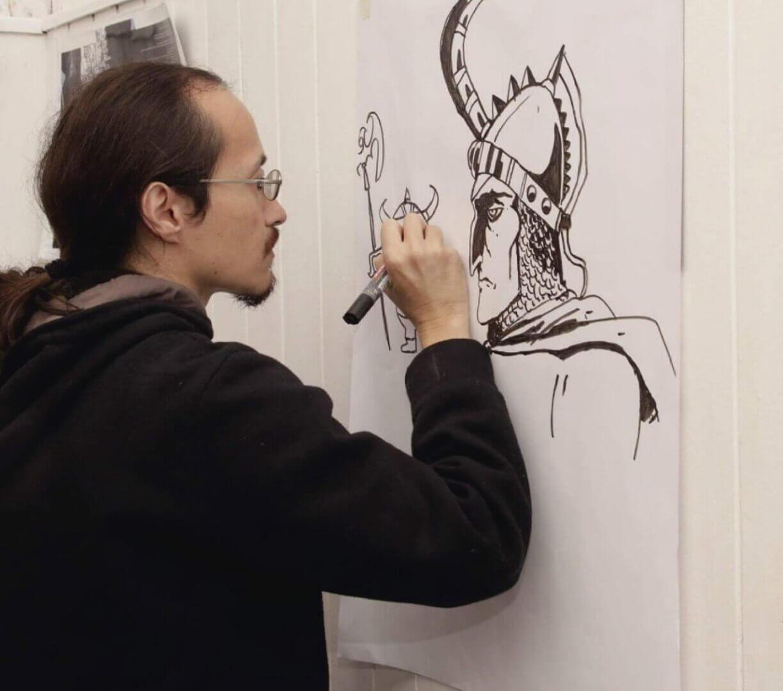 Hermanos Higa en accion- Comics y dibujo