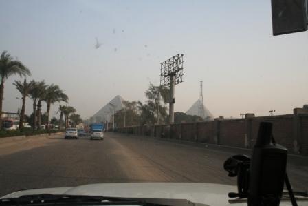 Pyramids through the murk