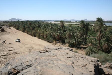 Between the Nile and the desert
