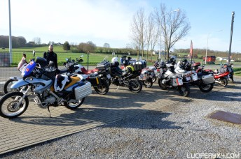 We gather at Motocare in Diest