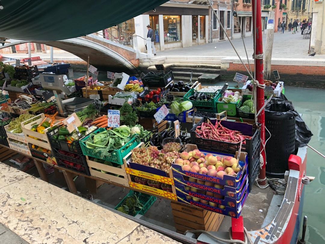 Venice Food Boat