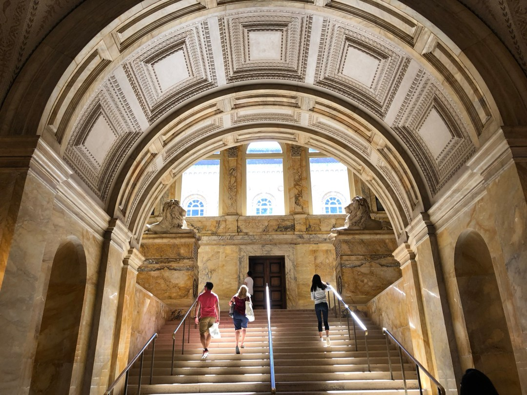 Boston Public Library, Luci Fit