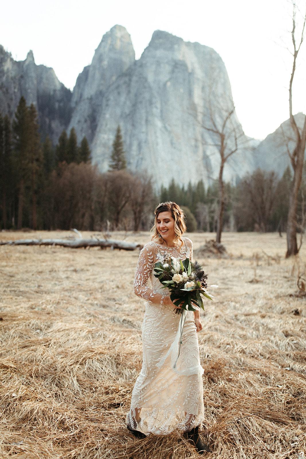 Yosemite Styled Elopement