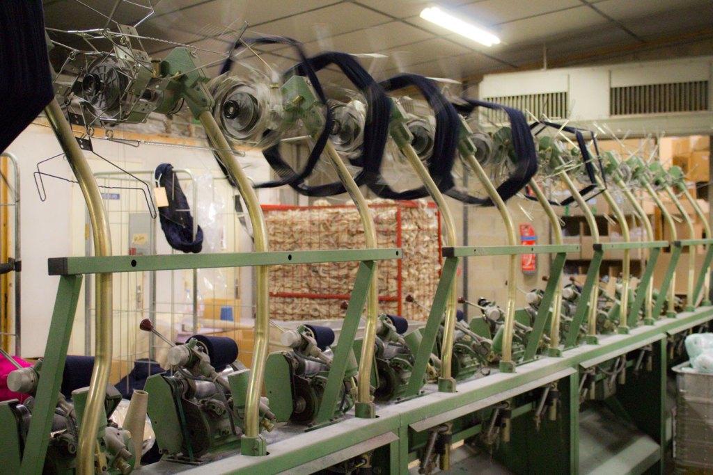"Echeveau devenant bobine 3 1024x683 - Fonty : la filature ""Made in Creuse"""
