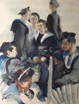 peraudinnordeux - Inspiration Marinière : du matelot à nos tricots