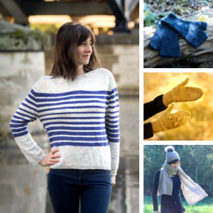boutique lucile ateliers designs - Le fil Cowgirlblues et mon pull Wild at Heart