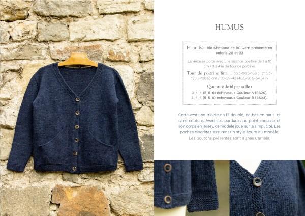 livre nature veste humus1 - Nature garde-robe tricotée (livre)