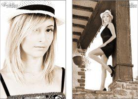 Photographe book Sarthe - Duo sépia