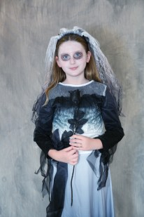 This Young Girl was a Widow for Halloween at the Lucille Khornak Gallery in Southampton, NY