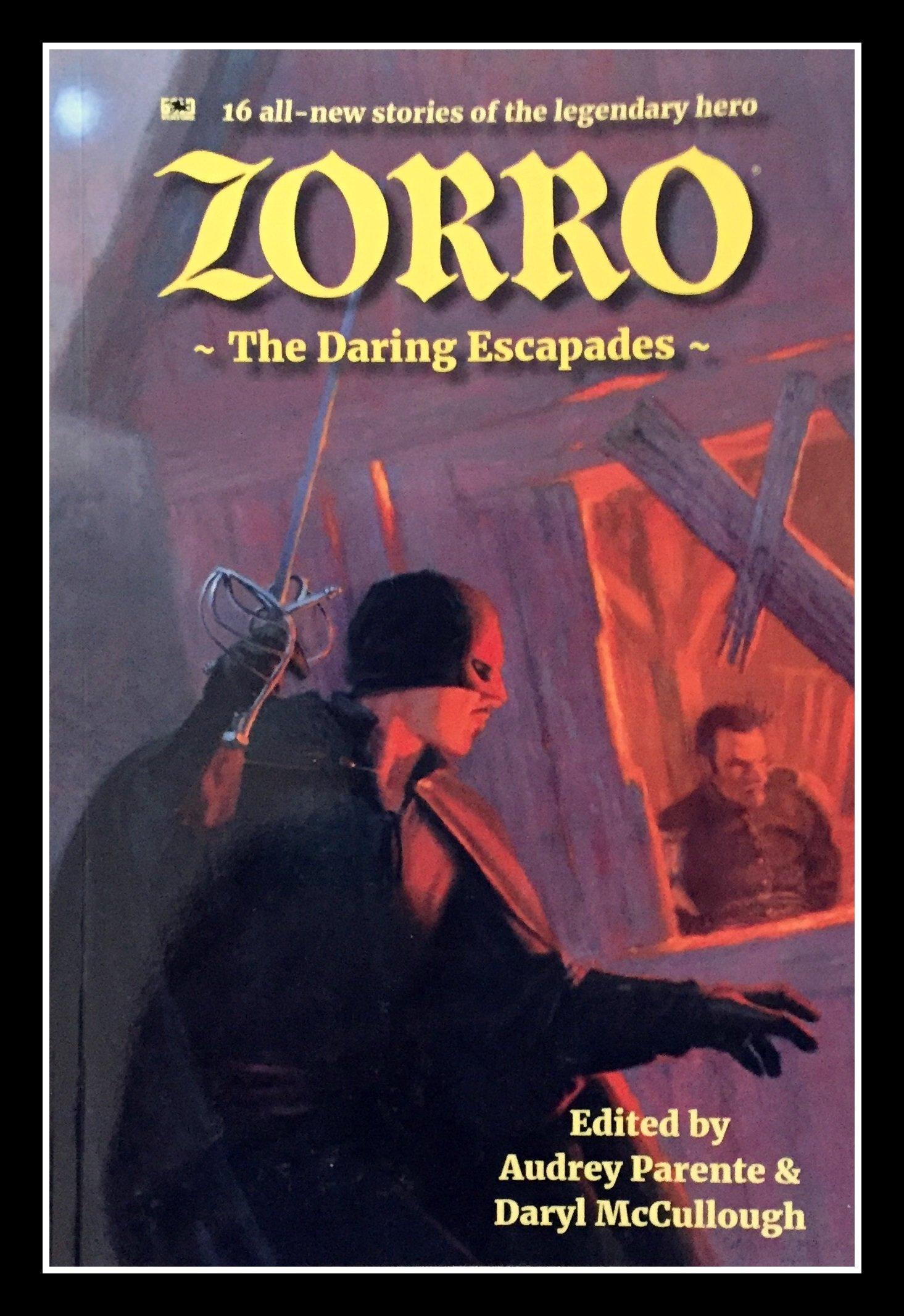 Zorro book cover