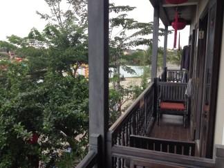 hoi An hotel balcony