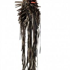 Lucinda Linderman Sculpture upcycled objects reclaimed material