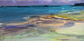 Storm over Daymer Bay, Mall Galleries, Pall Mall, NEAC Open Exhibition 2014