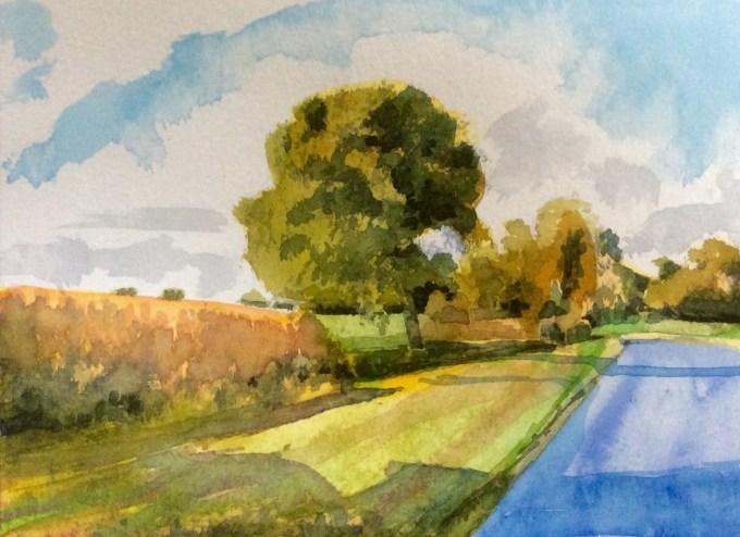 Watercolour, 12.2x 17.8