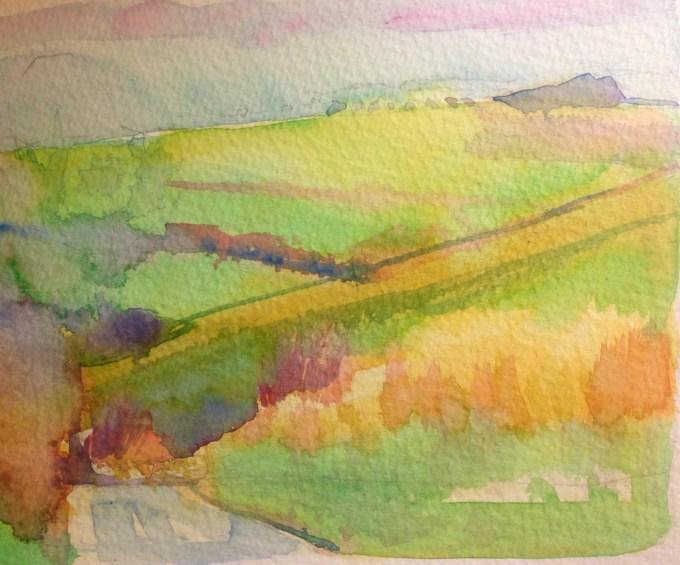 Watercolour, 15x12cm