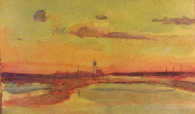 Winter Sunset, November