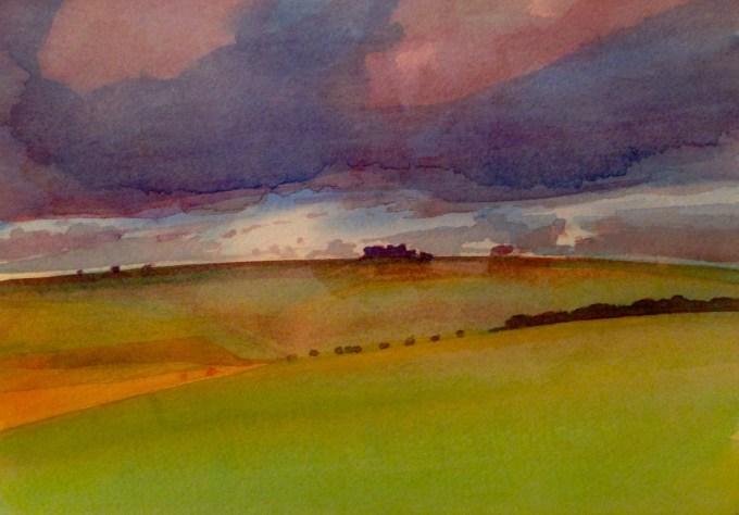 Watercolour, 22x 15 cm