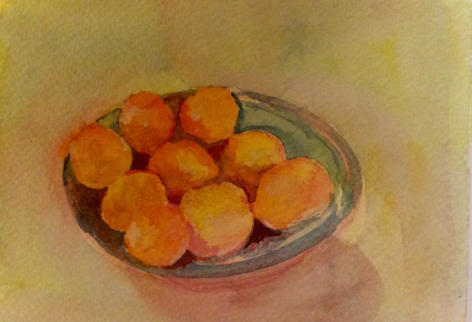 Watercolour, 11x 15 cm