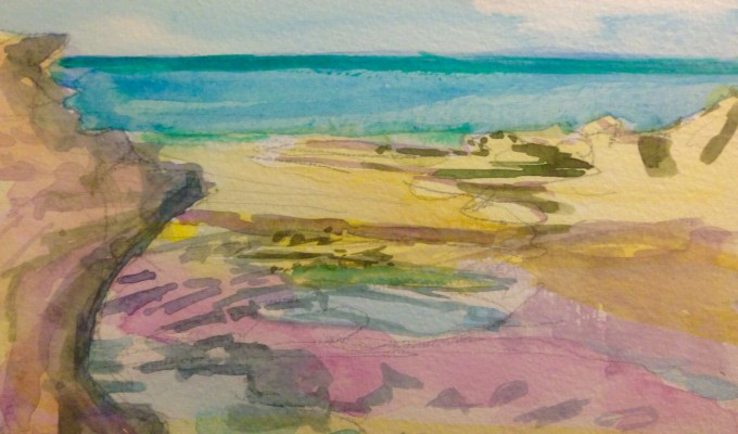 Gully, Tide Out II