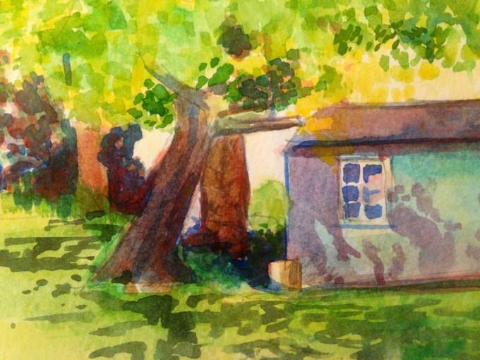 Watercolour, 15x 11 cm