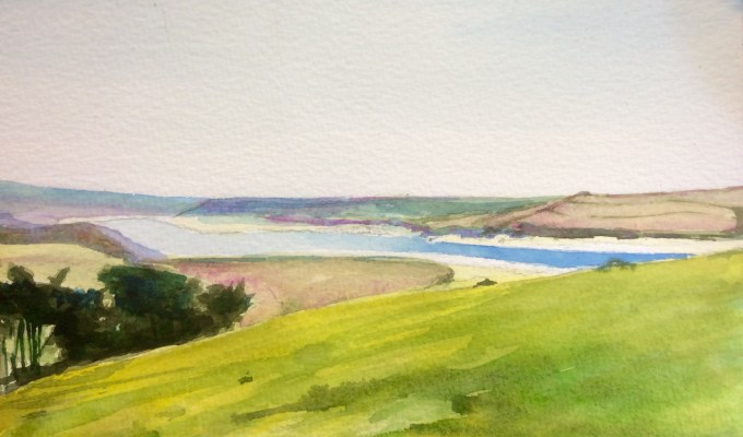 Padstow, from Brae Hill.