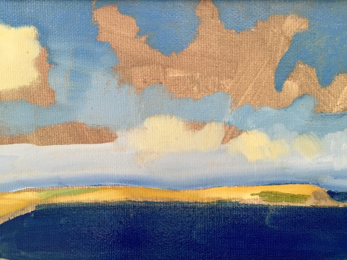 Cloud Study, Cornwall
