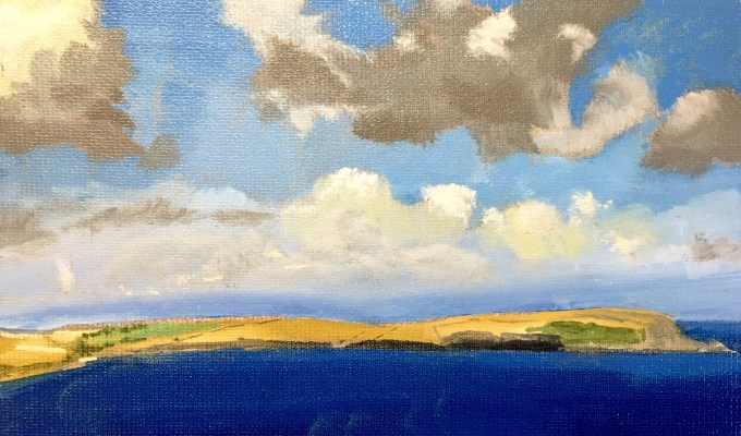 Clouds over Estuary