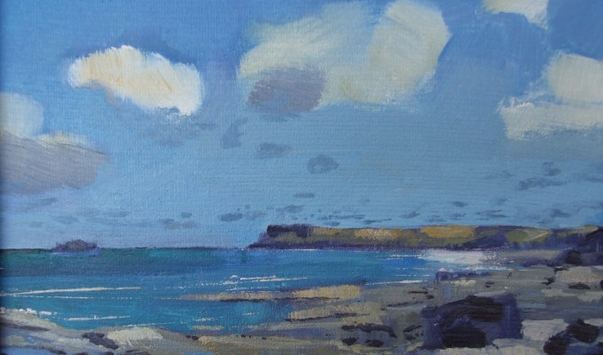 Paintings selected for The Royal Society of Marine Painters Annual Exhibition 2015