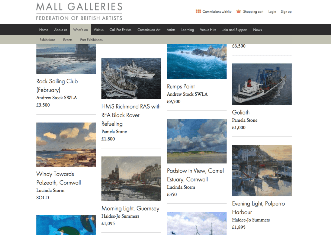 Royal Society of Marine Artists,2015