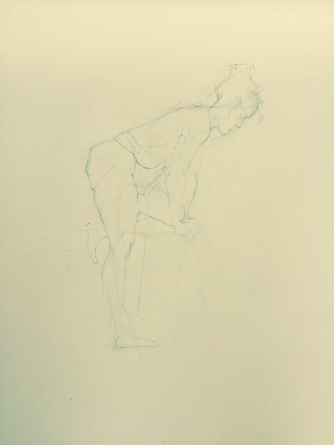 Joanna Bending, Graphite on Paper