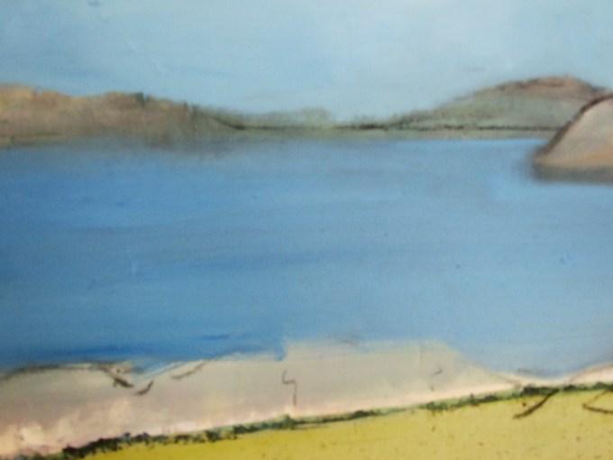 Land Mass. Oil on canvas.