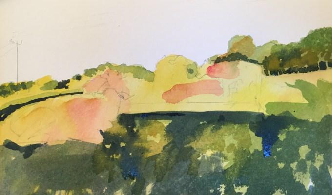 Cattle on Hill III