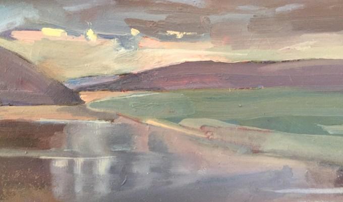 Light fading,Daymer Bay.