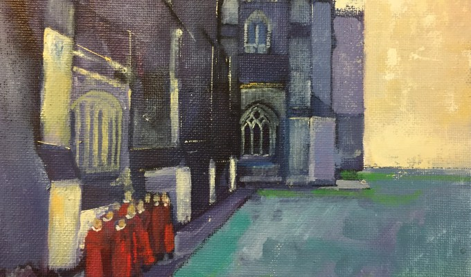 A Celebration of Exeter Cathedral and its Choristers at Christmas  Tuesday 21st November until Friday 15th December during normal visitor hours