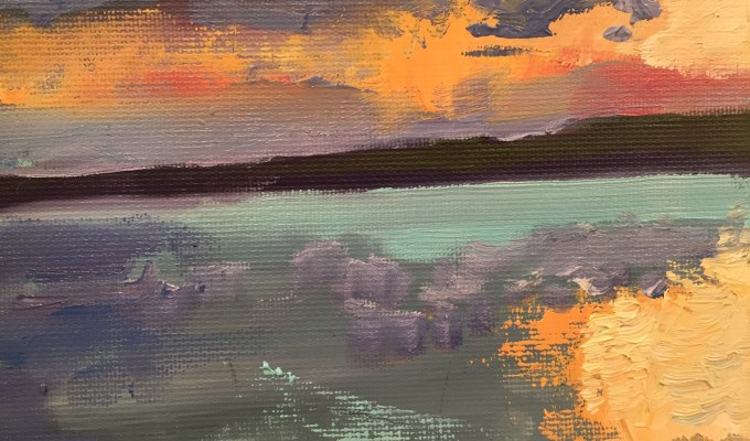 Daymer, Evening, colour study