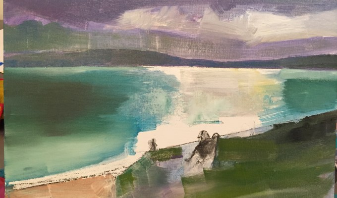 Beach Study, Daymer Bay