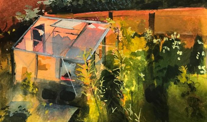 Greenhouse, Evening II