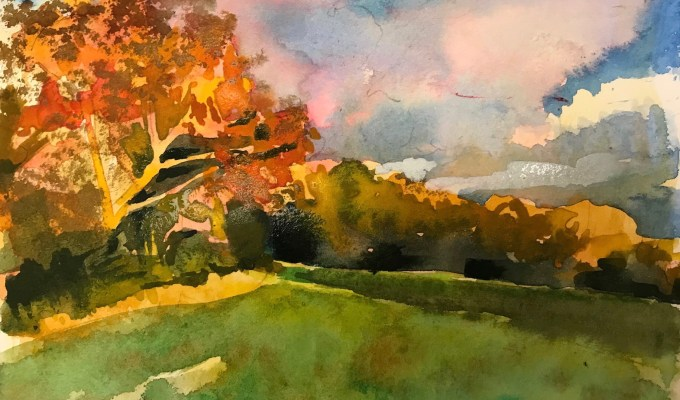 Autumn Light, East Knoyle
