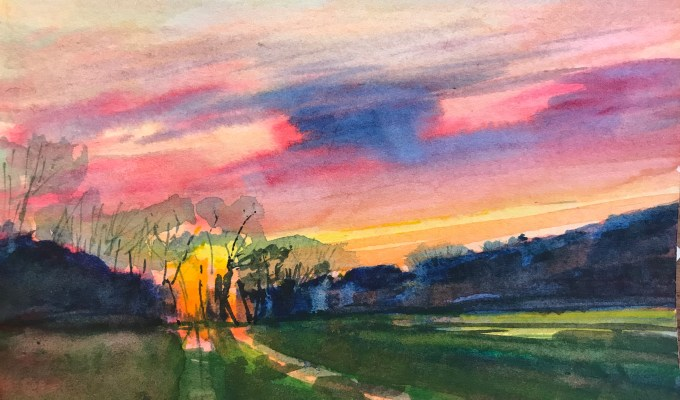 Sunrise, East Knoyle